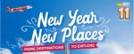 AirAsia - New Year,New Places